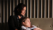 Margaret Colin as Lynn & Kristen Bush as Donna McAuliffe in Taking Care of Baby.
