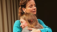 Margaret Colin as Lynn Barrie & Kristen Bush as Donna McAuliffe in Taking Care of Baby.