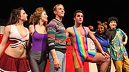 The cast of 'Bayside! The Musical!'