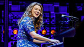 Melissa Benoist as Carole King in Beautiful - The Carole King Musical on Broadway