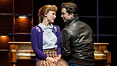 Melissa Benoist and Evan Todd in Beautiful - The Carole King Musical on Broadway