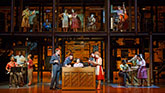 The cast of Beautiful - The Carole King Musical on Broadway
