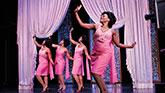 Nasia Thomas, Tamika Lawrence, Yasmeen Sulieman, and Gisela Adisa in Beautiful The Carol King Musical on Broadway