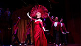 Bette Midley as Dolly Levi in Hello Dolly on Broadway.