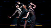 Brandy Norwood as Roxie Hart in Chicago.