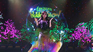 Melody Yang in The Gazillion Bubble Show.