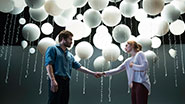 Jake Gyllenhaal as Roland and Ruth Wilson as Marianne in 'Constellations.'