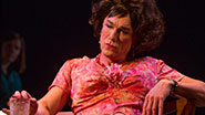 Patrick Page as Valentina in 'Casa Valentina'