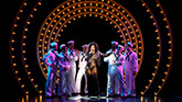 Stephanie J. Block  and the cast of The Cher Show on Broadway
