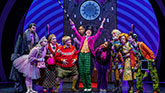 The Cast of Charlie and The Chocolate Factory on Broadway.