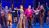The cast of The Prom on Broadway