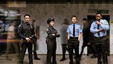 The Cast of Lobby Hero.
