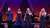 The cast of Home For The Holidays on Broadway