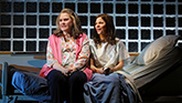 Celia Weston as Aunt Ruth and Lili Taylor as Bessie in Marvin's Room on Broadway.