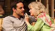 Daniel Sunjata as Michael Astor and Blythe Danner as Anna Patterson in 'The Country House'