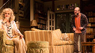 Blythe Danner as Anna Patterson and Eric Lange as Elliot Cooper in 'The Country House'