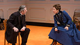 Laurie Metcalf and Chris Cooper in A Doll's House, Part 2.