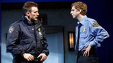 Chris Evans, Michael Cera in Lobby Hero.