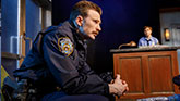 Chris Evans in Lobby Hero.
