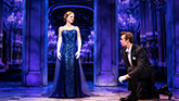 Christy Altomare and Zach Adkins in Anastasia on Broadway