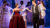 Christy Altomare and Cody Simpson in Anastasia on Broadway
