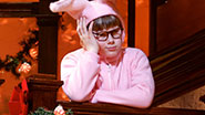 Johnny Rabe as Ralphie in A Christmas Story: The Musical.