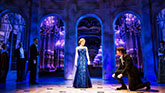 Christy Altomare as Anya and Derek Klena as Dmitry in Anastasia on Broadway.