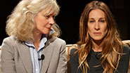 Blythe Danner as Judith & Sarah Jessica Parker as Becca in The Commons of Pensacola.