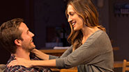 Michael Stahl-David as Gabe and Sarah Jessica Parker as Becca in The Commons of Pensacola.