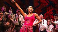 Heather Headley as Shug Avery & the cast of 'The Color Purple