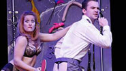 A scene from off-Broadway's Cuff Me! The Fifty Shades of Grey Musical Parody.