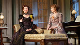Cynthia Nixon as Regina and Laura Linney as Birdie in The Little Foxes.