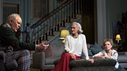 John Lithgow as Tobias, Glenn Close as Agnes & Lindsay Duncan as Claire in 'A Delicate Balance'
