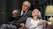 Glenn Close as Agnes and John Lithgow as Tobias in 'A Delicate Balance'