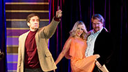 Seth Rudetsky and the cast of Disaster!