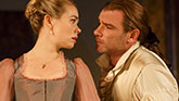 Birgitte Hjort Sørensen as Madame de Tourvel and Liev Schreiber as Le Vicomte de Valmont in 'Les Liaisons Dangereuses'