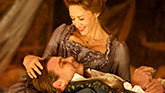 Janet McTeer as La Marquise de Merteuil and Liev Schreiber as Le Vicomte de Valmont in 'Les Liaisons Dangereuses'
