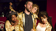 Dustin Diamond and the ladies of 'Bayside! The Musical!'
