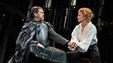 Dylan Baker and Janet McTeer in Bernhardt/Hamlet on Broadway
