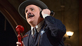 Nathan Lane as Walter Burns in 'The Front Page'