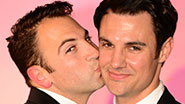 The grooms of 'My Big Gay Italian Wedding'