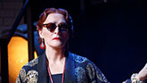 Glen Close as Norma Desmond in Sunset Boulevard on Broadway.