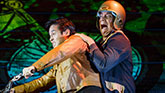 Raymond Lee as Quang and Jon Hoche as Nhan in 'Vietgone'
