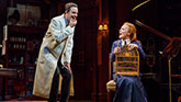 Lauren Ambrose and Harry Hadden- Paton in My Fair Lady on Broadway.