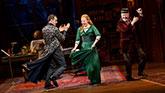 Harry Hadden-Paton, Lauren Ambrose, and Allan Corduner in My Fair Lady on Broadway.