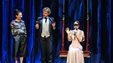 """Thommy Ten and Amelie Van Tess the Clairvoyant's in """"The Illusionists"""""""