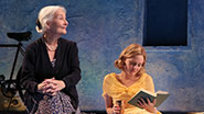 Rosemary Harris as Eleanor, Romola Garai as Flora Crewe & Bhavesh Patel as Anish Das in 'Indian Ink'