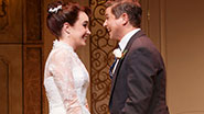 Sierra Boggess as Rebecca & David Burka as Brian in 'It Shoulda Been You'