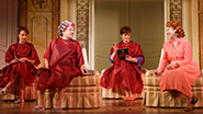 Sierra Boggess as Rebecca, Tyne Daly as Judy, Lisa Howard as Jenny, Harriet Harris as Georgette & Montego Glover as Annie in 'It Shoulda Been You'