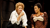Janet McTeer and Brittany Bradford in Bernhardt/Hamlet on Broadway